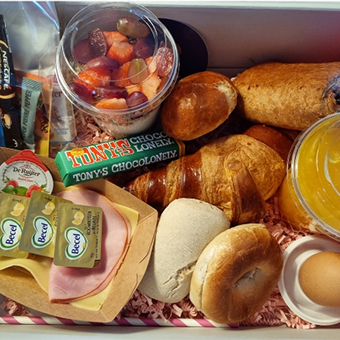 Moederdag ontbijtbox